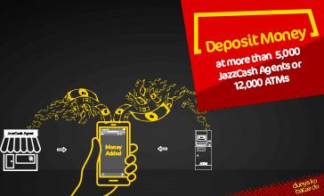 Deposit Money - JazzCash