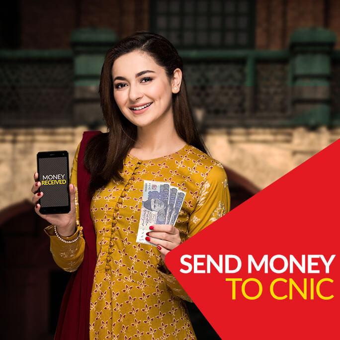 Send Money to CNIC - JazzCash