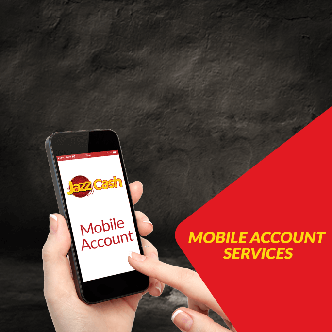 Mobile Account Services - JazzCash