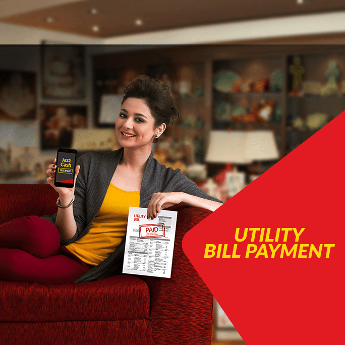 Utility Bill Payments - JazzCash